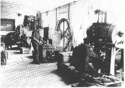 Rahmenherstellung 1955